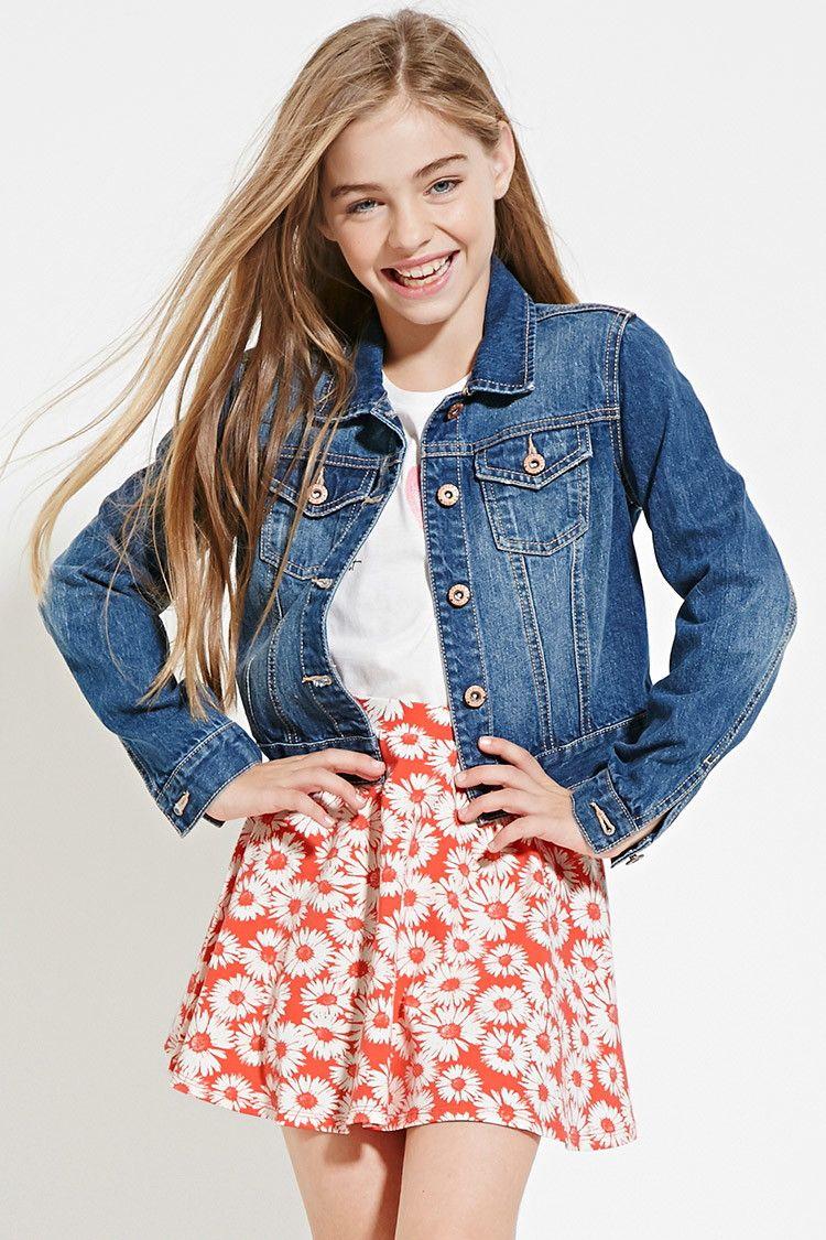 girls floral print skirt kids style pinterest jette m dchen und f r kinder. Black Bedroom Furniture Sets. Home Design Ideas