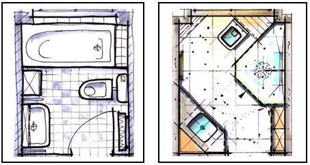 Badplanung kleines bad unter 4m badraumwunder wiesbaden for Badezimmer ideen 9qm