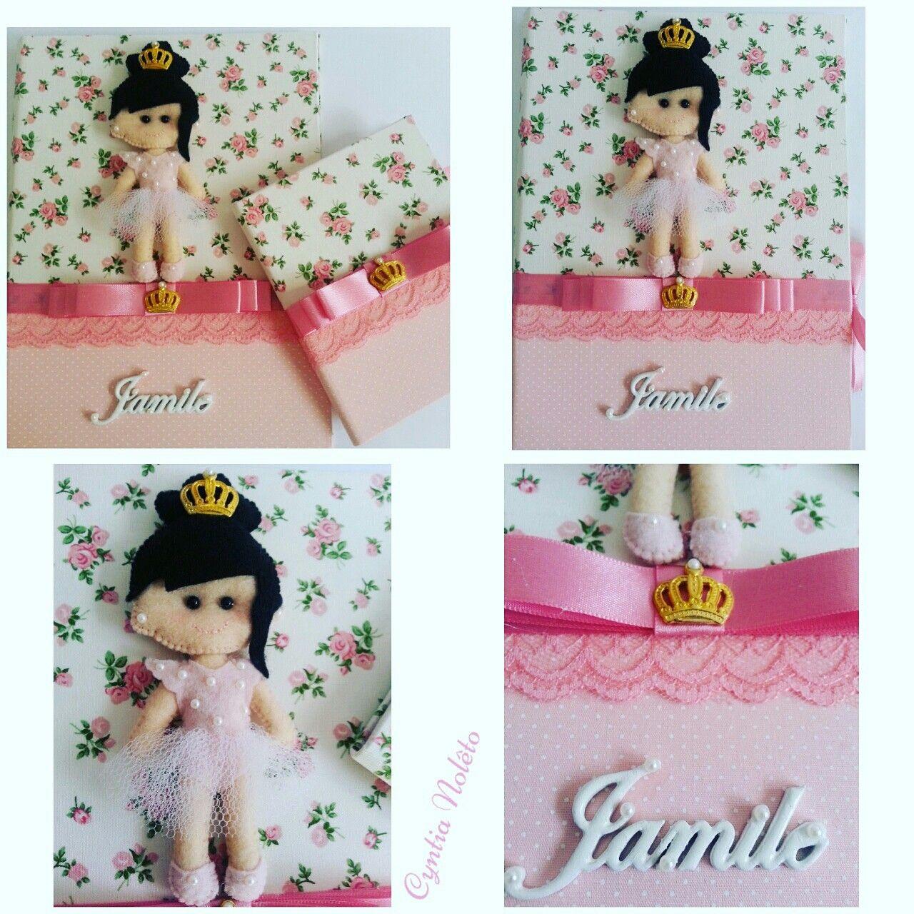 Caderneta de Vacina e Porto Documento para a Princesa Jamile.