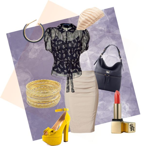 """""""Retro pin-up"""" by mofm on Polyvore"""