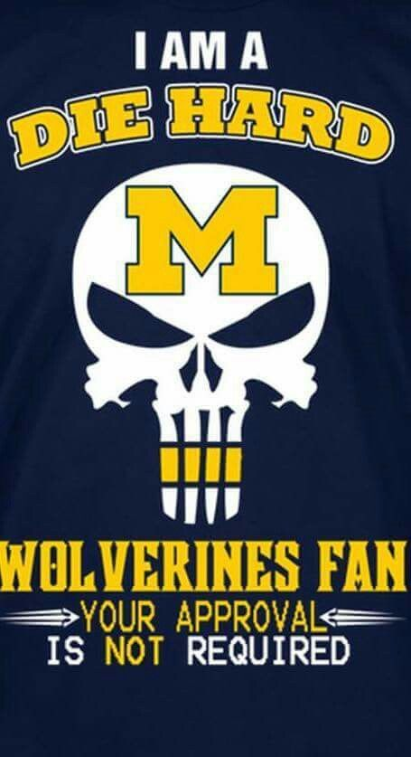 Pin On Wolverines