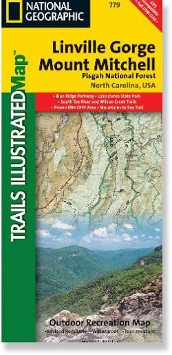 Linville Gorge Mount Mitchell Topographic Map Products