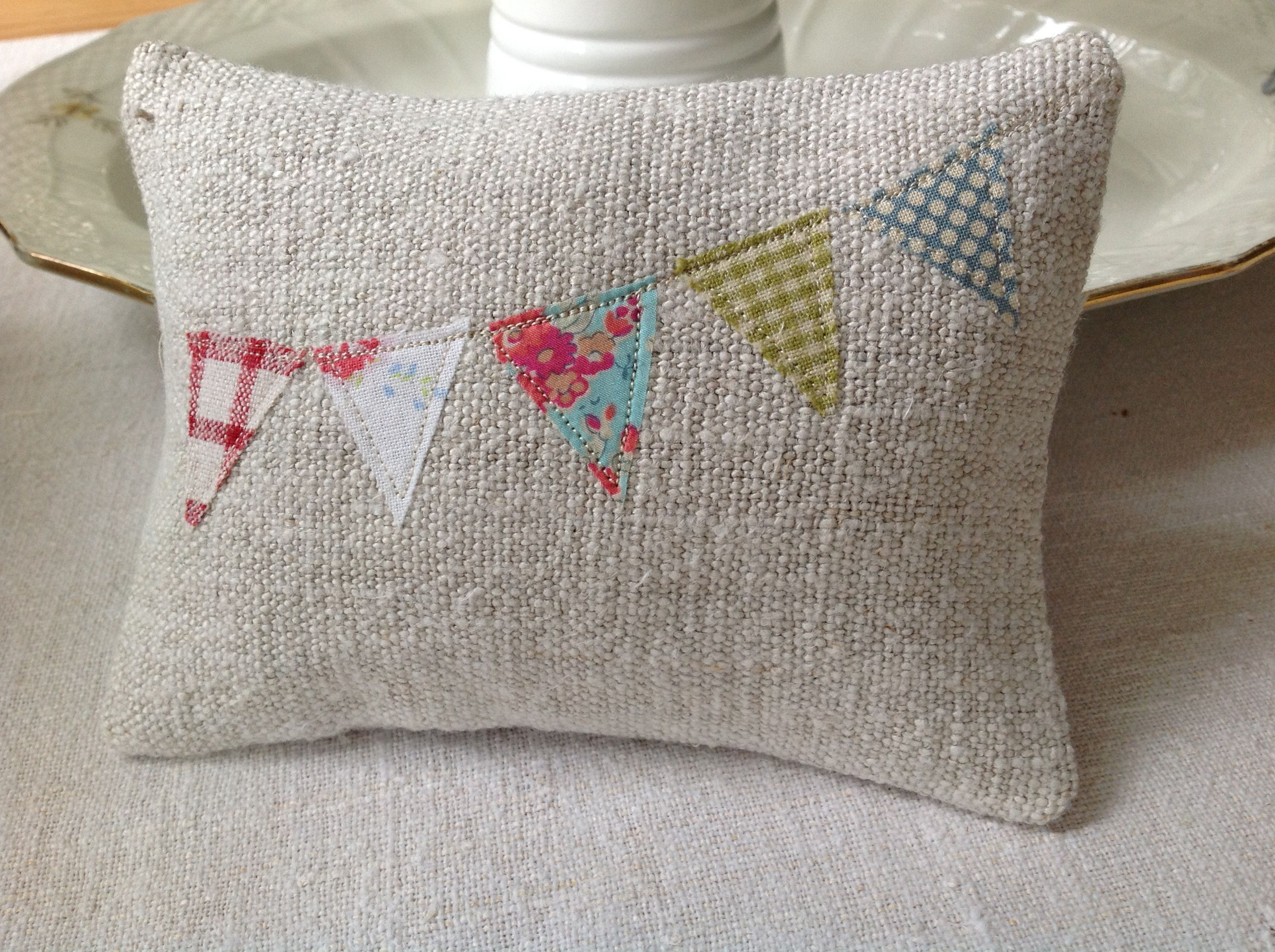 Bunting lavender bag by T&Linen