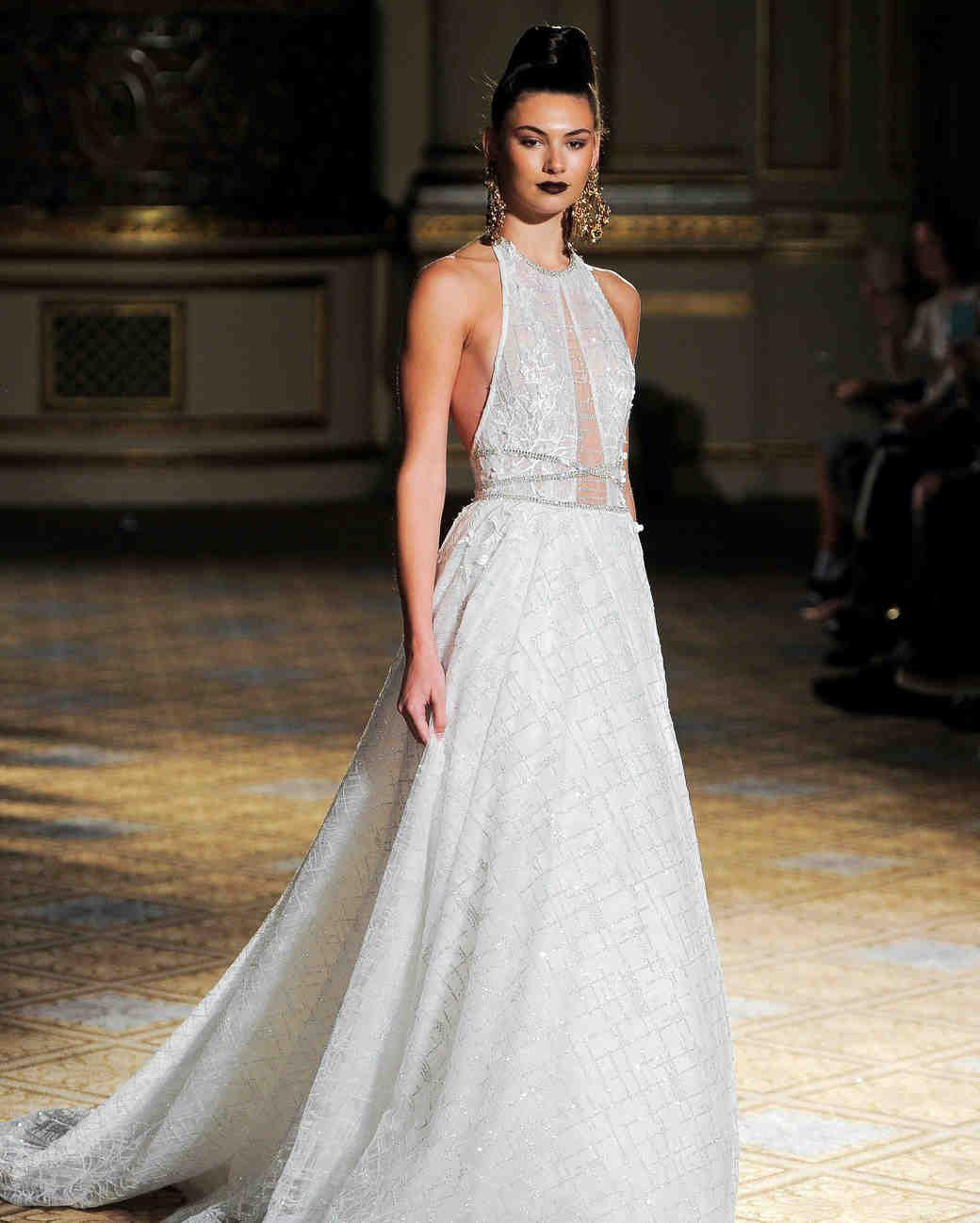 Halter wedding dresses 2018 pictures