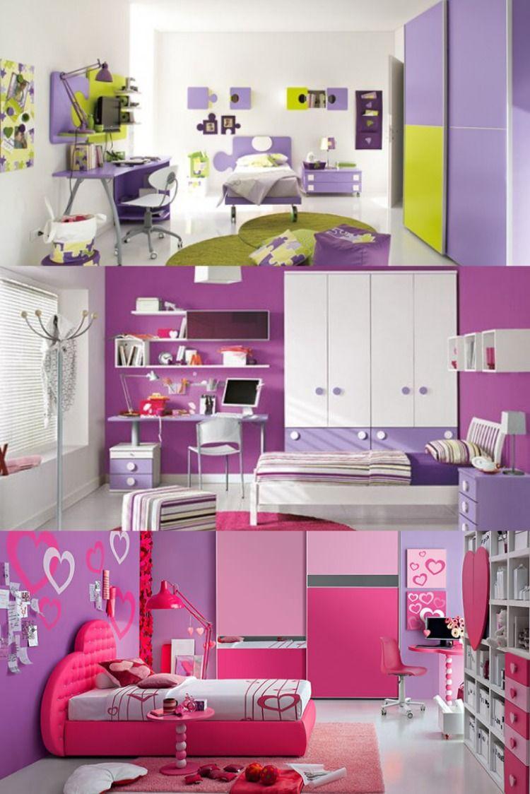 أشكال غرف نوم بنات موف تصاميم ديكورات غرف نوم بنات باللون الموف In 2021 Girls Bedroom Colors Bedroom Colors Girls Bedroom