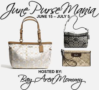 Giveaway Alert: Coach Purse Mania (US/Can)