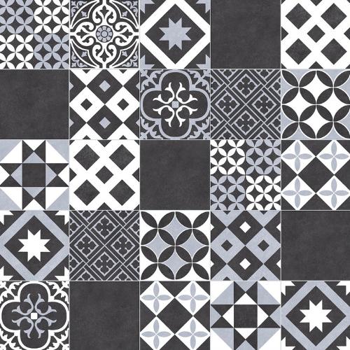 Cushion Vinyl Flooring Vintage Tile Vivre 90 In 2020 Vinyl Flooring White Vinyl Flooring Vintage Tile