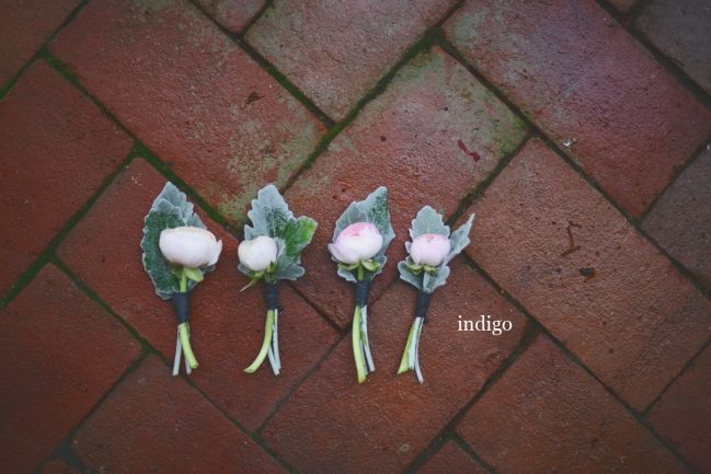 Katie & Dennis, Daniel Stowe Botanical Garden, Indigo Photography, Hall & Webb Event Design, Charlotte Wedding Planner, Groomsmen Boutonniere