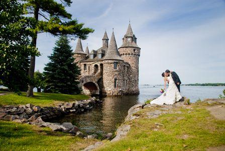 boldt castle wedding in alexandria bay