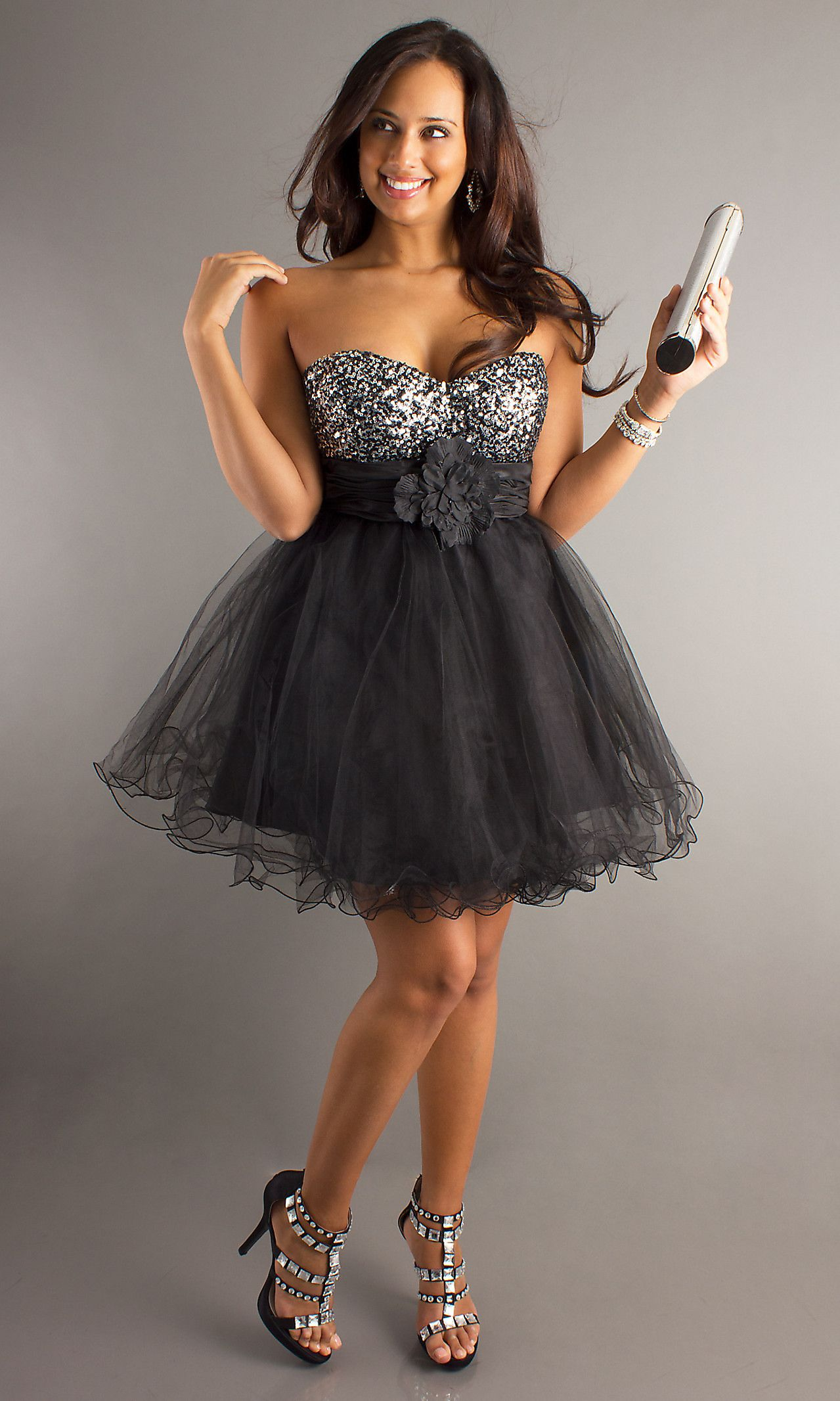 Loving this one! And it's the right price too! $115!!! Possible 30th B-day dress! Short A-Line Tulle Plus Dress DQ-P8000