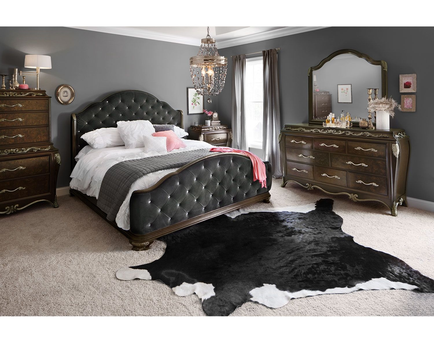 Dark And Delicious The Anastasia Bedroom Suite By Pulaski