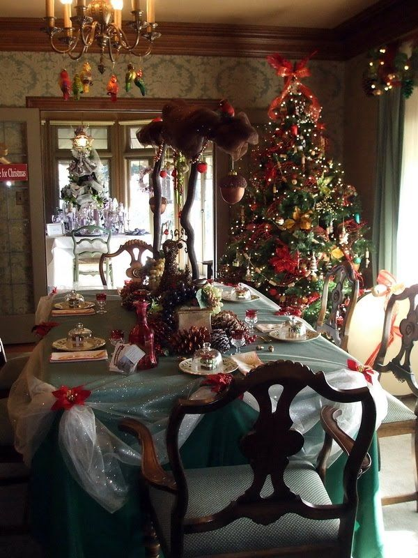 Historic Homes Decorated For Christmas