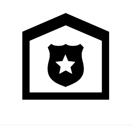 Police Station Icon In Android Style This Police Station Icon Has Android Kitkat Style If You Use The Icons For Android Apps Police Station Android Icons Icon