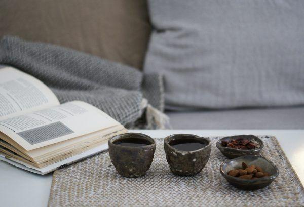 Rustic handmade coffee cups by Julia Lu . . . . . .  #clay #coffeelover #tea #tableware #handmade #ceramicplate #modernceramics #coffee #art #rustic #minimal #contemporarypottery #minimalism #keramik #designforfood #design #ceramist #陶器 #homeandliving #drinkware #simple #homewares #foodfeed #studiowork #coffee #wabisabi #morning #barcelona #julia_lu_studio