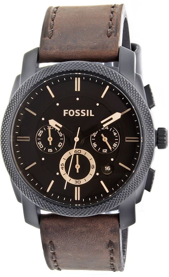 a6d111ddbdf Fossil Men s FS4656 Leather Crocodile Analog with Brown Dial Watch     120.00   Fossil Watch Men