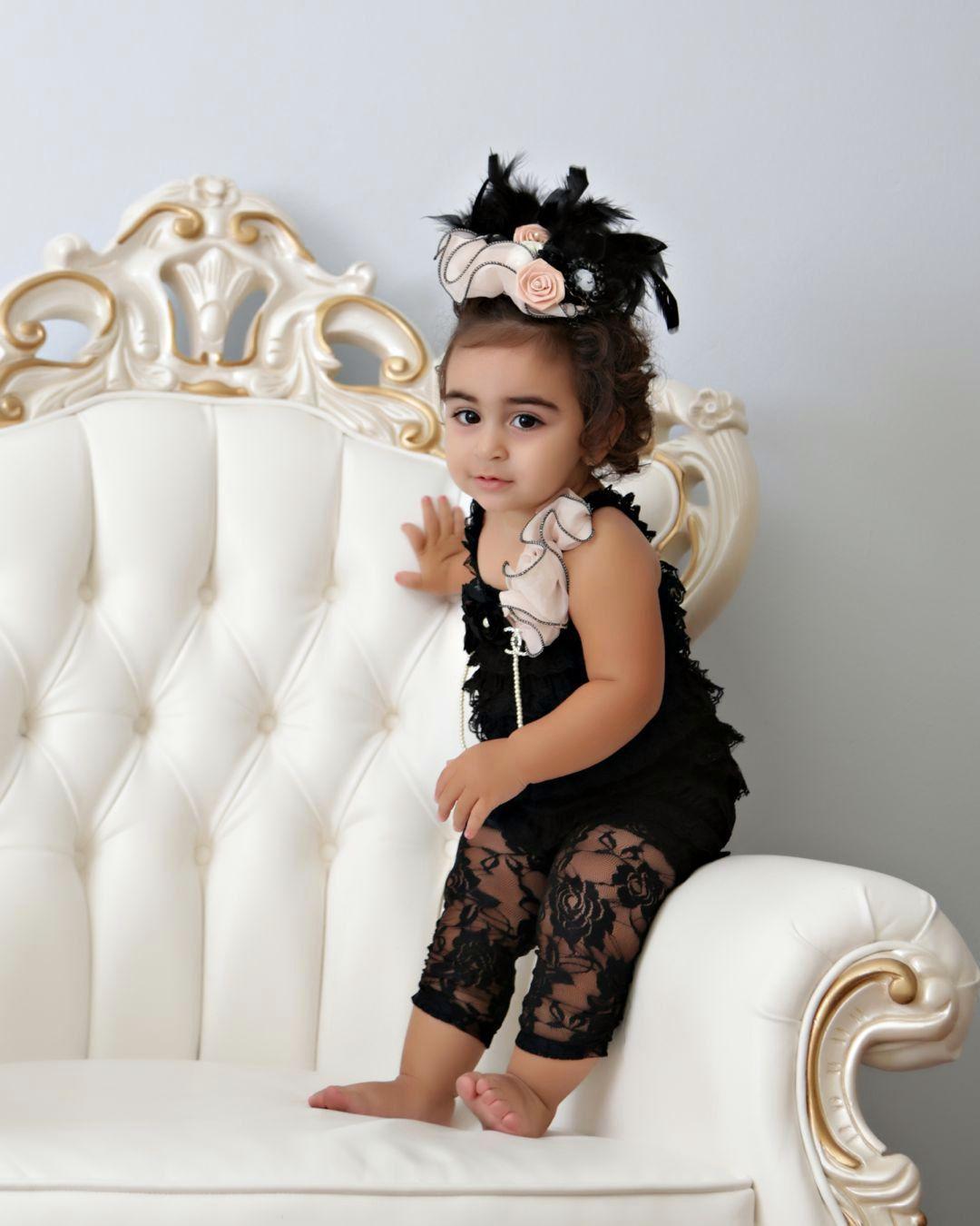 7086c6957 Baby Audrey Hepburn LBD!