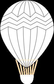 Vector Clip Art Online Royalty Free Public Domain Air Balloon Hot Air Balloon Clip Art