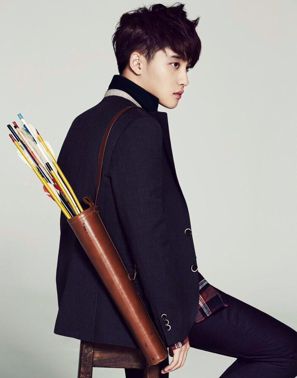 Kyungsoo....Doobie!!!! Now I know what happened I got hit in the heart with one of those arrows.