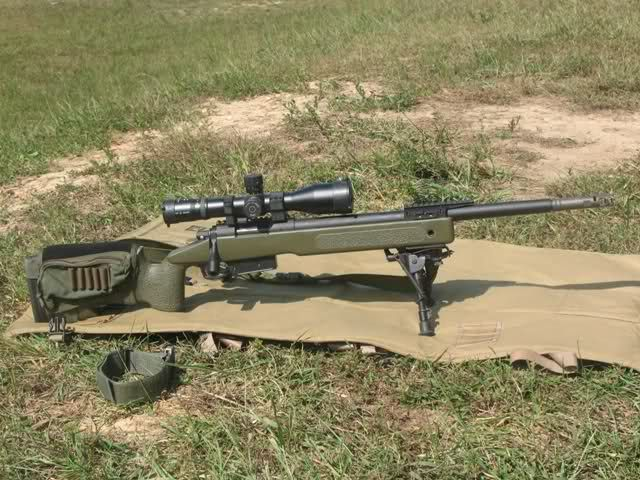 The USMC's New Sniper Rife - M40A5