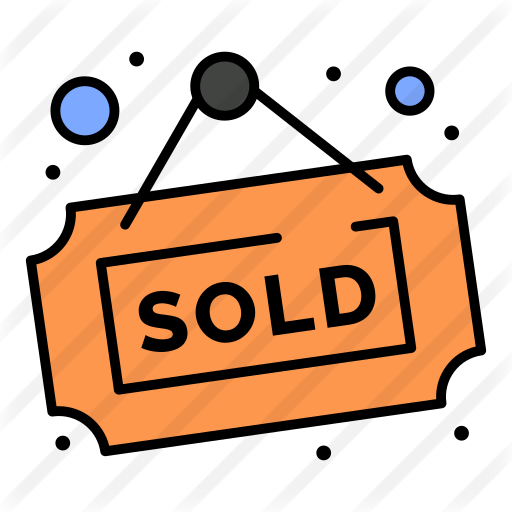 Sold Signs Paid Ad Ad Signs Sold Store Icon Greeting Card Display Icon
