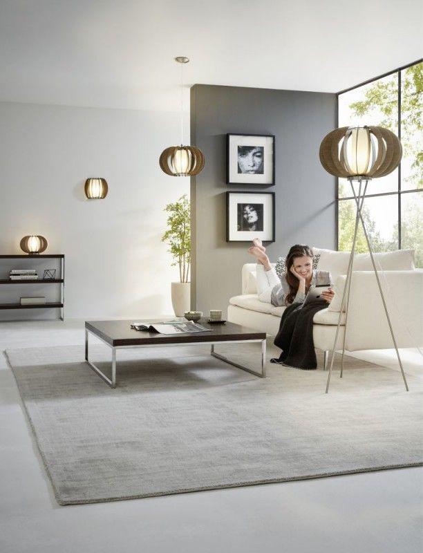 EGLO STELLATO 3 Wandleuchte, 1 Flg., E27, Braun, Weiss   Wandleuchten    Wohnraumleuchten | Lichtgestaltung Mit Holz | Pinterest | Lamellen,  Leuchten Und ...
