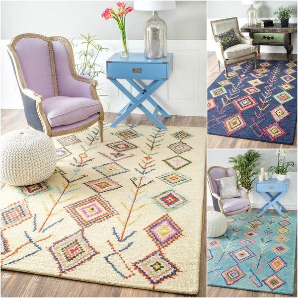 nuloom handtufted wool moroccan diamond rug 7u0027 6 x 9u0027 6 by nuloom - Nuloom Rugs