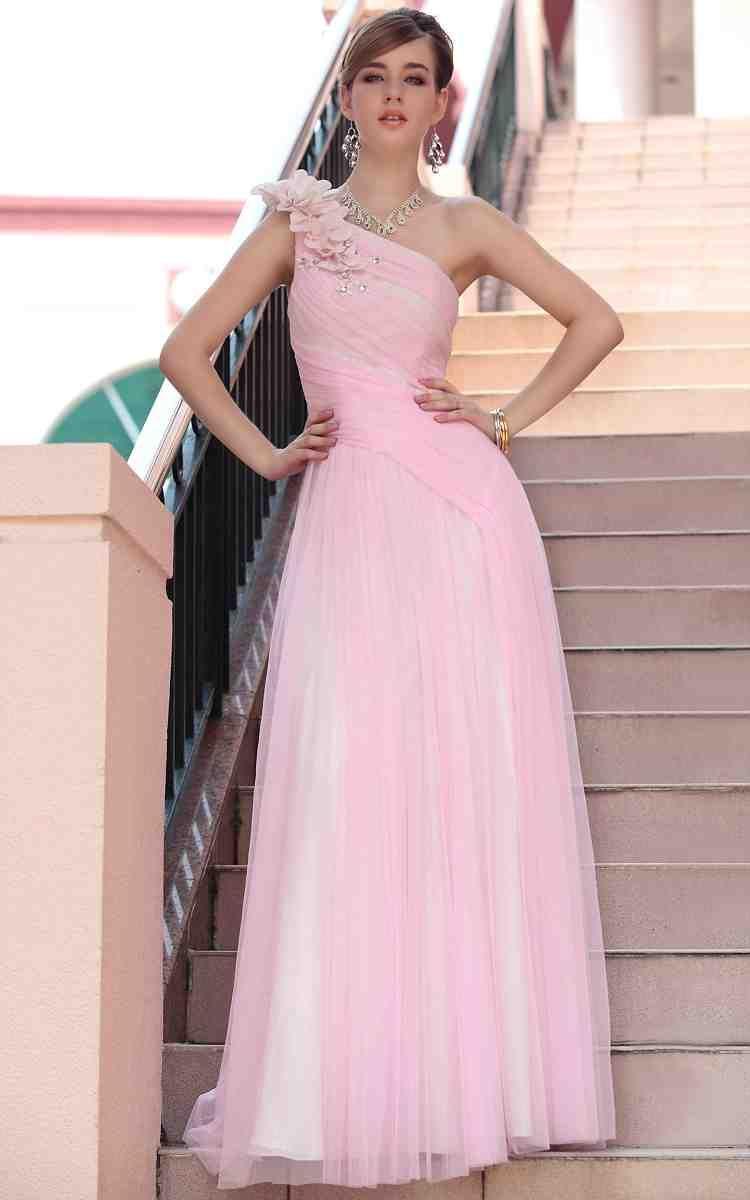 Pale pink long bridesmaid dresses pink bridesmaid dresses