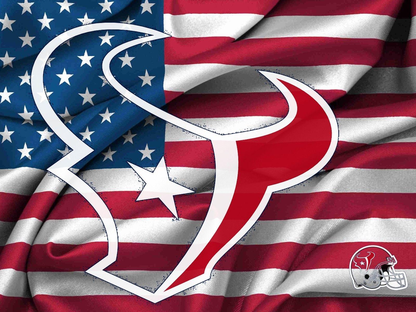 Houston Texans Logo nfl houston texans logo usa flag