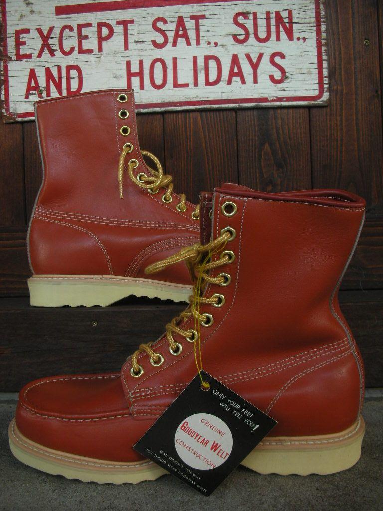 641ce3d2e30 Big Mac work boots - Google Search   Men's Lace-Up Boots Fashion ...