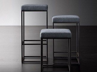 Upholstered Stool With Removable Cover Hardy Stool Meridiani