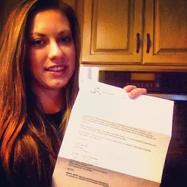 Acceptance Letter Utahstate Hereicome Aggies College