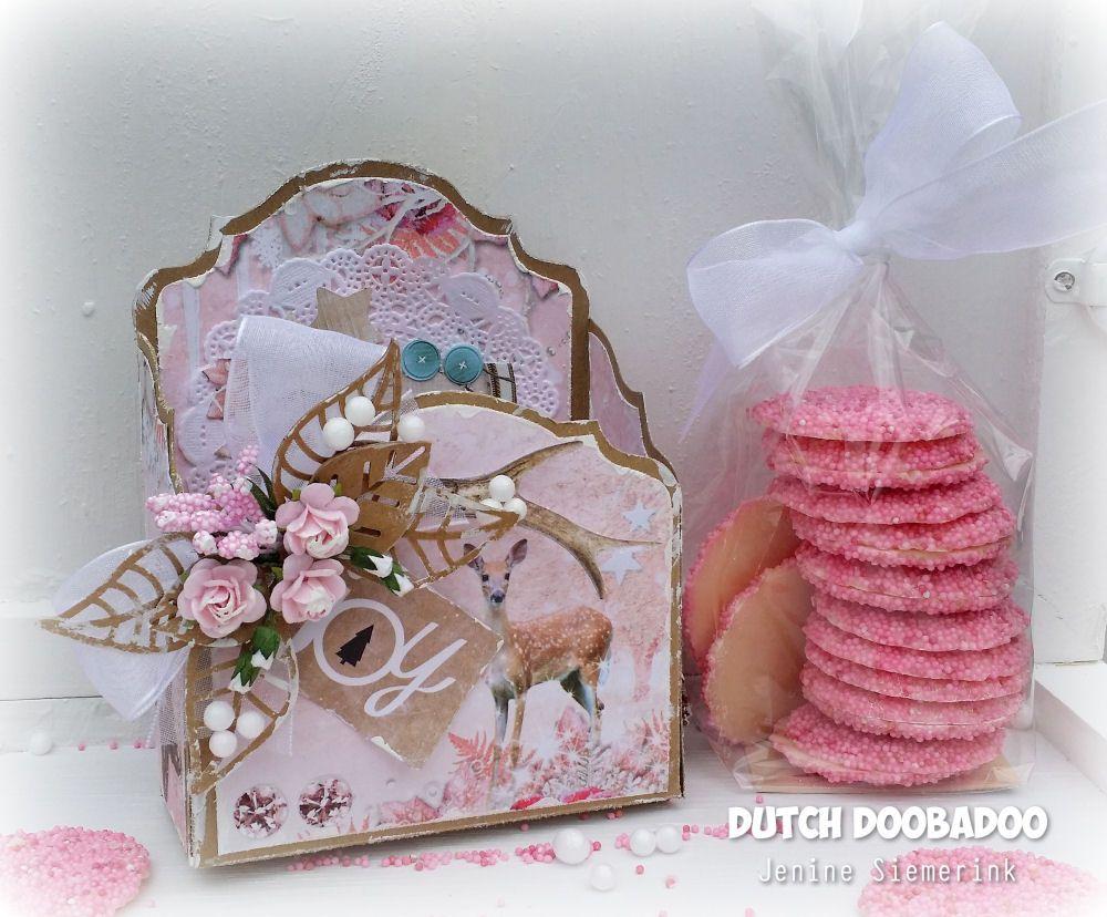 Jenine's Card Ideas: Sweet Winter Season - Baroque doosje