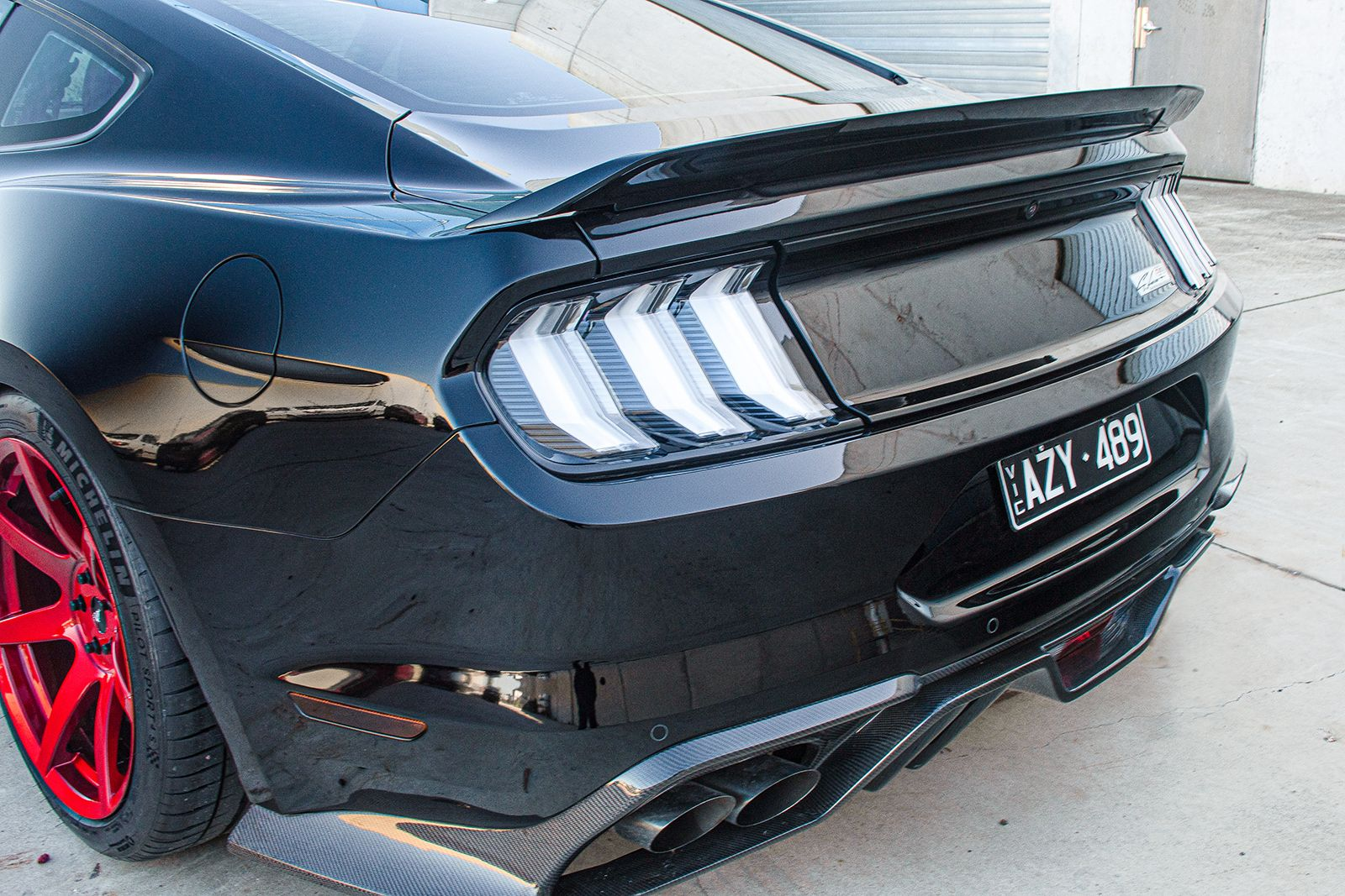 Cam's Mustang Feature Cam's specified his car to have an