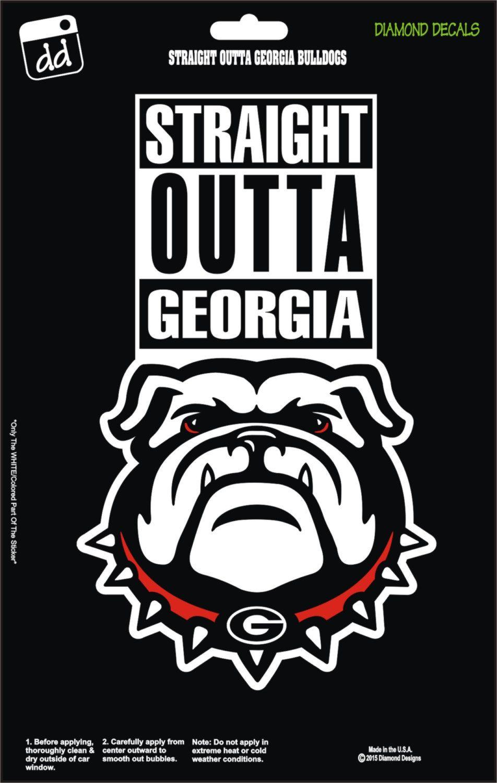 Straight Outta Bulldogs College NCAA Football Team