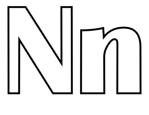 Con Letra N | Dibujos para pintar | Pinterest | Letra n, Dibujos ...