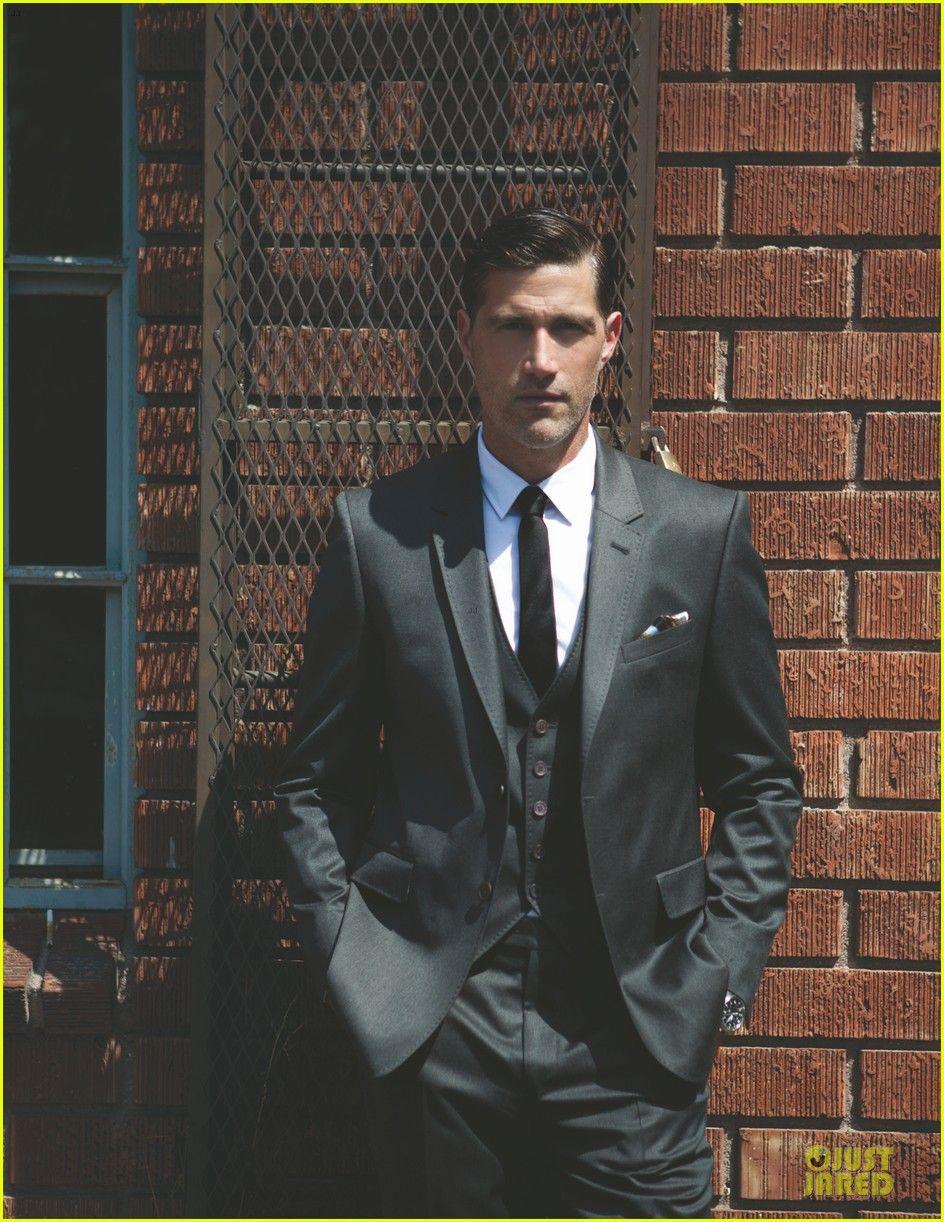 Matthew Fox: 'Da Man' magazine  | Dress To Express