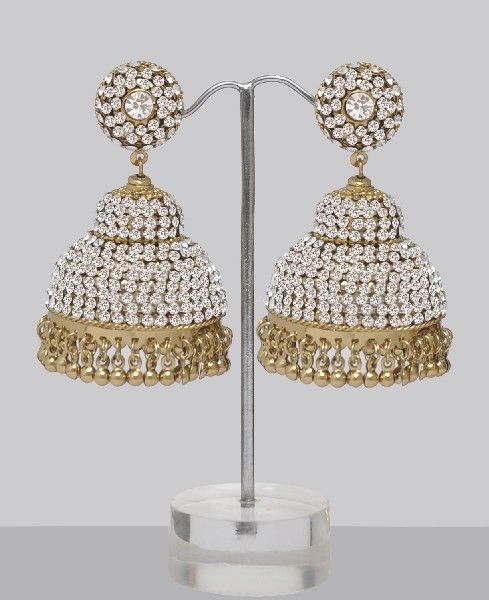 Very Large Silver Jhumka Earrings Online Ping For Great Products From India With S And Offers Indian Clothes Jewelry