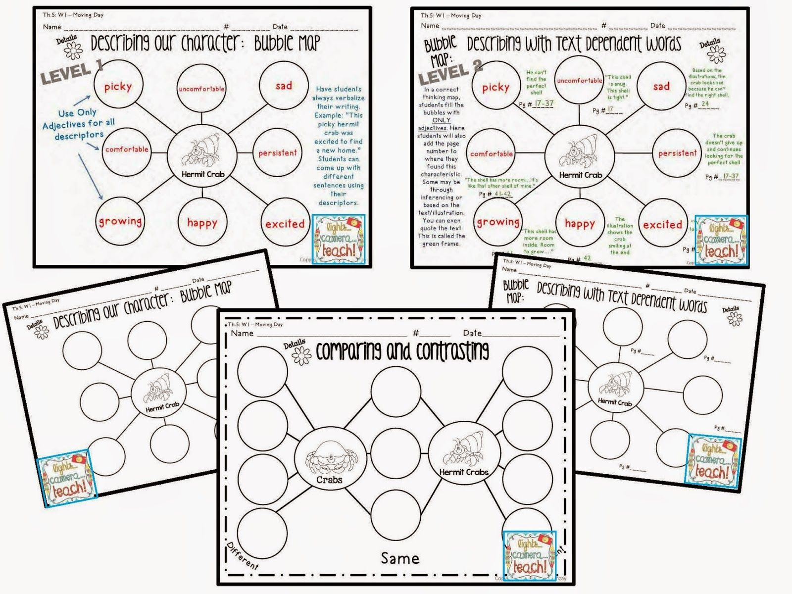 Differentiated Thinking Maps 2 Different Levels Level 2