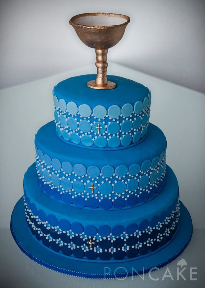 Torta de Primera Comunión para niño | tortas bautizo | Pinterest ...