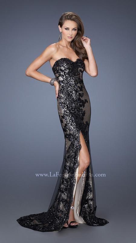La Femme 19364 La Femme Fashion 2014 La Femme Prom Dresses