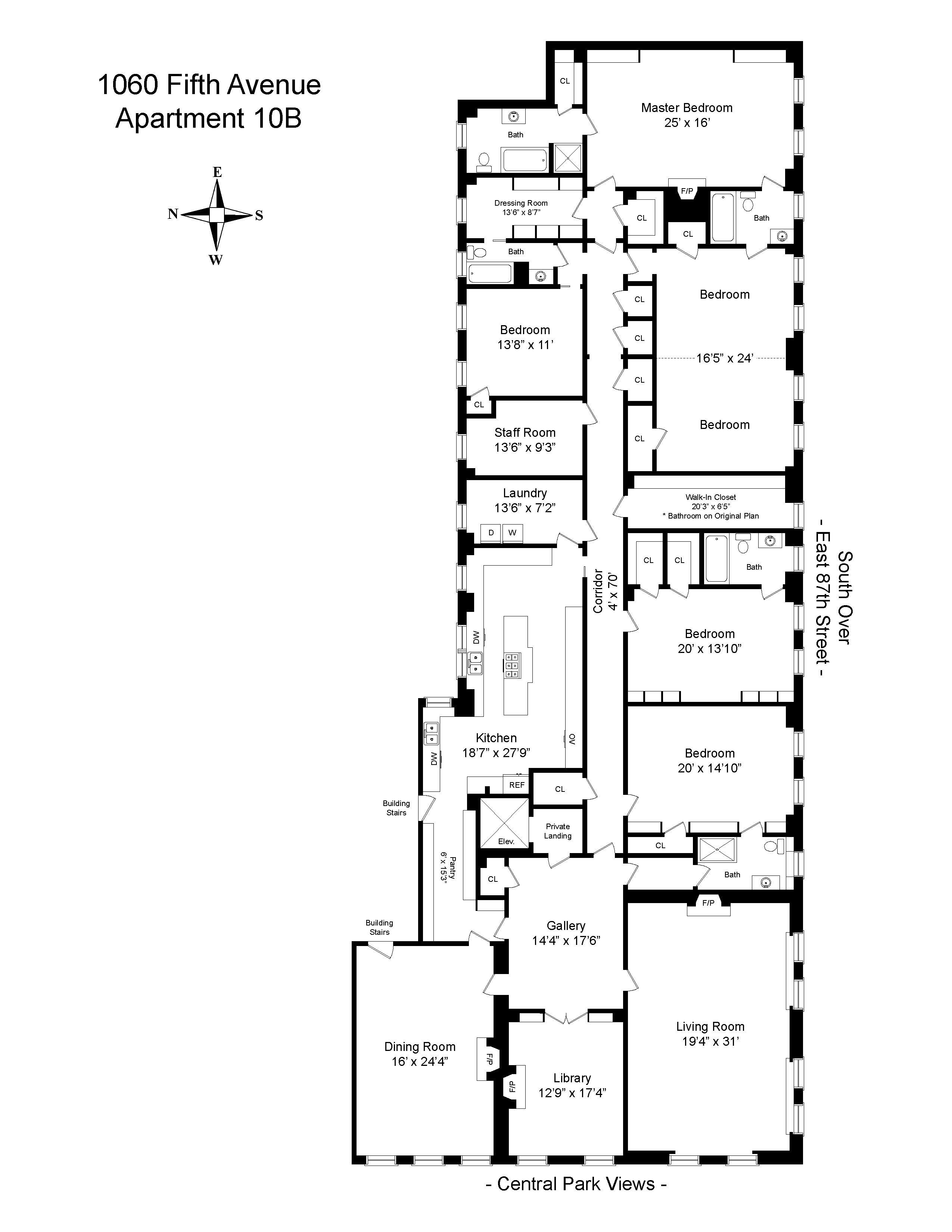 1060 Fifth Avenue 10b New York Ny 10128 Sotheby S