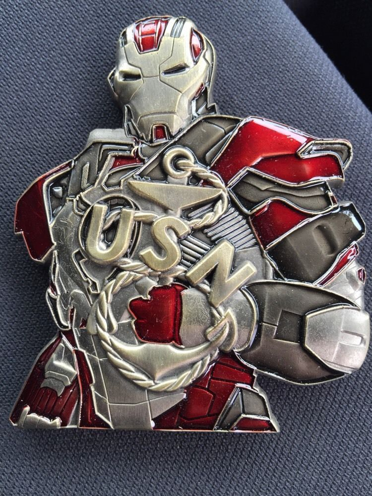 Iron Man Challenge Coin Chief Coin Cpo Challenge Coin