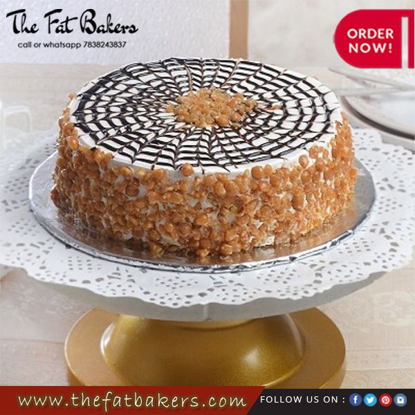 Order Butterscotch Cakes Online And Sends To Your Loved Ones In Delhi
