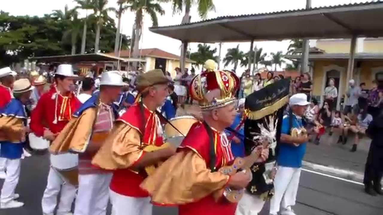 CONGADA DE SÃO BENEDITO - DESFILE DE CAVALEIROS DE JAGUARIUNA 2015
