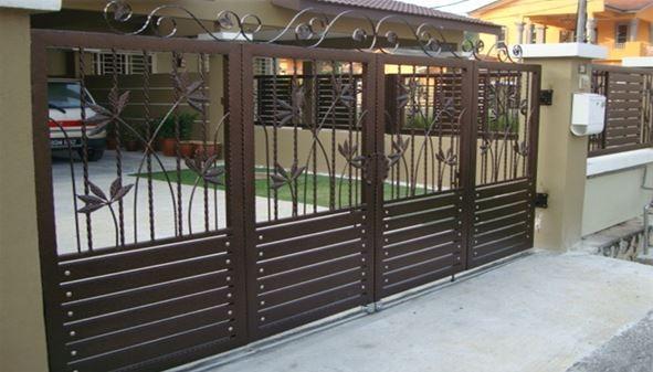 Harga Pintu Pagar Murah Minimalis Rumah 2018 Menierima Juga Spesifikasi