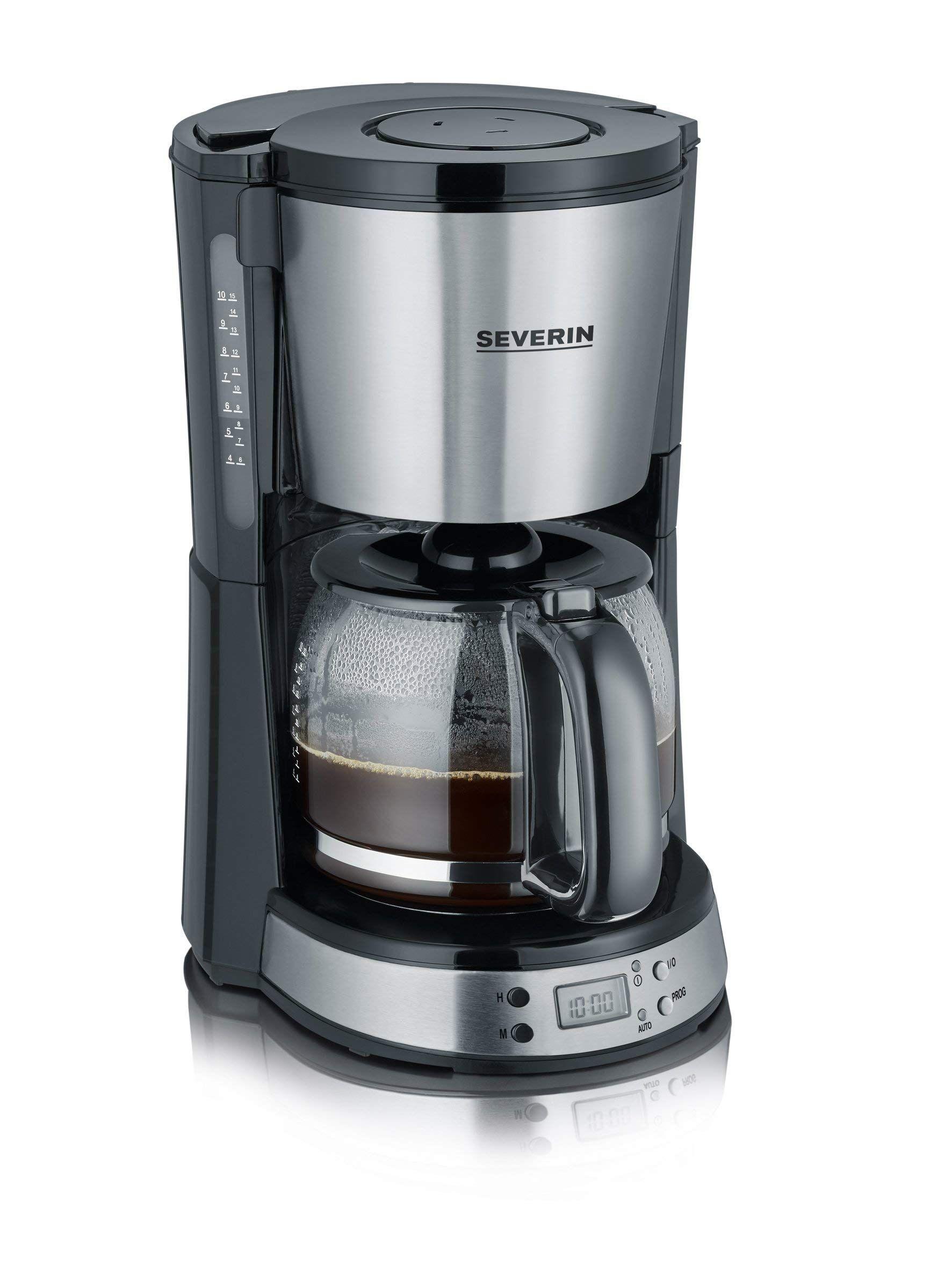 SEVERIN Kaffeemaschine, Select, Für gemahlenen