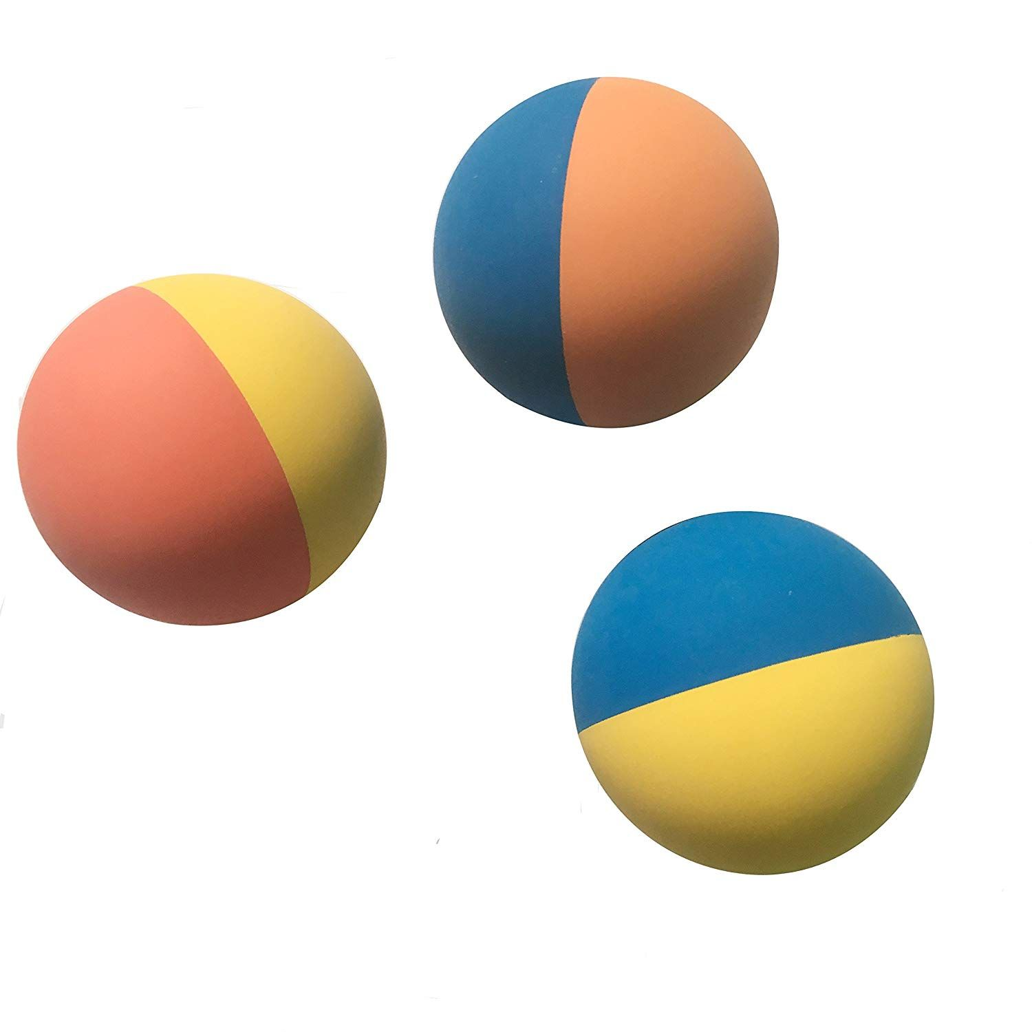 Weierfu Rubber Fetch Ball For Small Dogs Super Bouncy Dog Rubber Ball Premium Pet Toys For Training 3 Pack Details Can Be Found By Pet Toys Dog Ball Ball