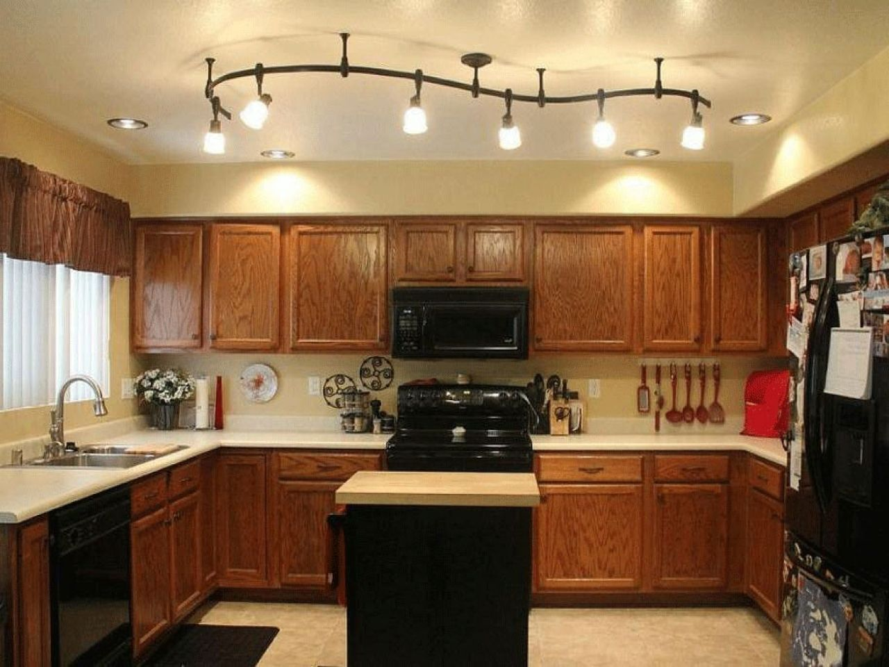 Picture Of Kitchen Track Lighting For Low Ceiling
