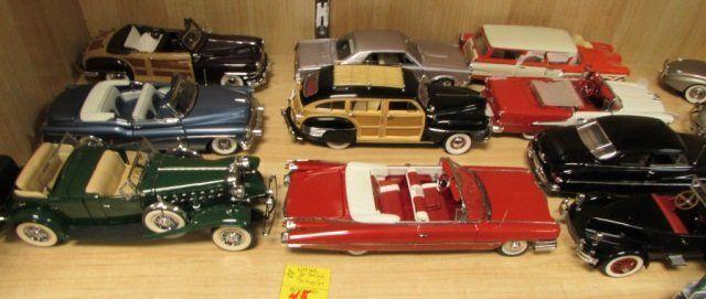 Danbury Mint Diecast Cars | 10 Danbury Mint Diecast Cars MIB Cert & Box