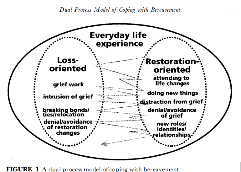 theories of loss and grief in counselling To better understand the phenomenon of loss and grief, it seems essential to have a look at the main theories on the field since there is not currently a broadly applicable, integrative theory of bereavement (stroebe, stroebe, & hansson, 1993, p7.